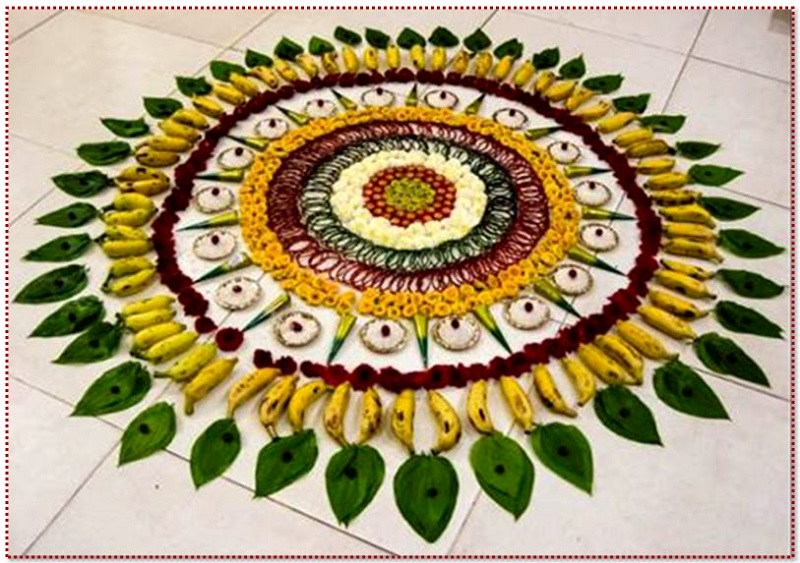 Best Rangoli Designs For Diwali 2017 | Free Hand Rangoli With Colors