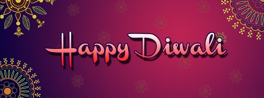 Happy Diwali Facebook Cover Photos Banners Free Download