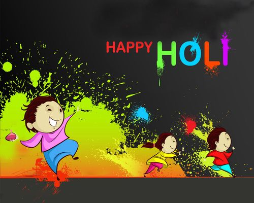 Best Holi Mubarak 2018 Animated Wallpapers, Imagesv